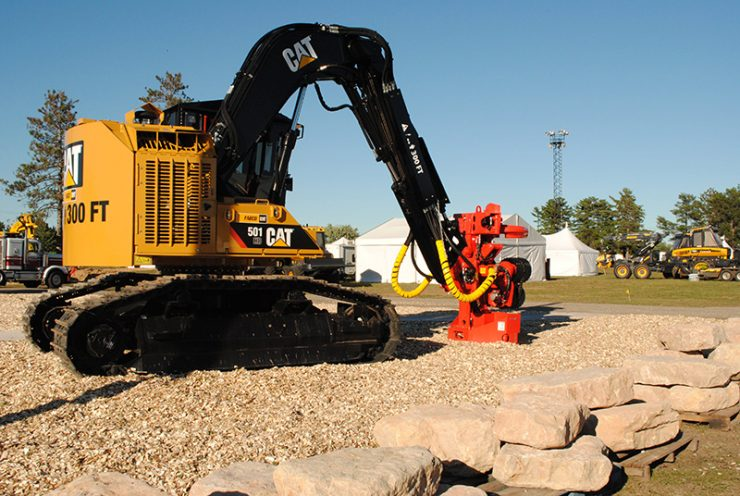 Big logging equipment moves in for 68th annual Logging Congress