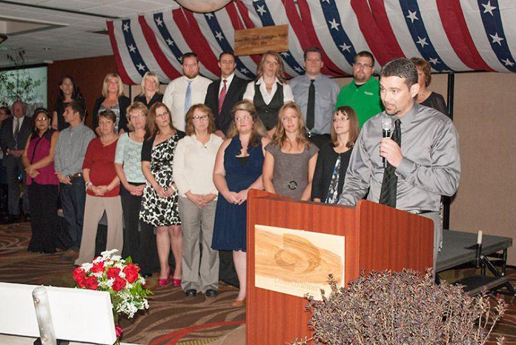 New graduates from Delta Force leadership program
