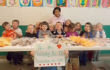 Holy Name Catholic School students raise money for Filipino earthquake, typhoon victims