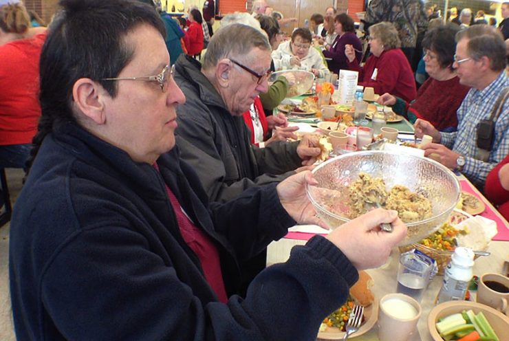 Yoopers gather for a Community Thanksgiving Dinner