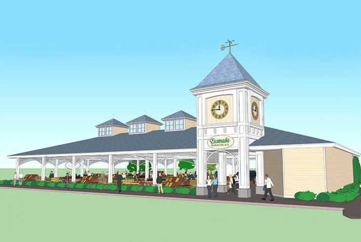 Escanaba DDA unveils new city marketplace to replace farmer's market