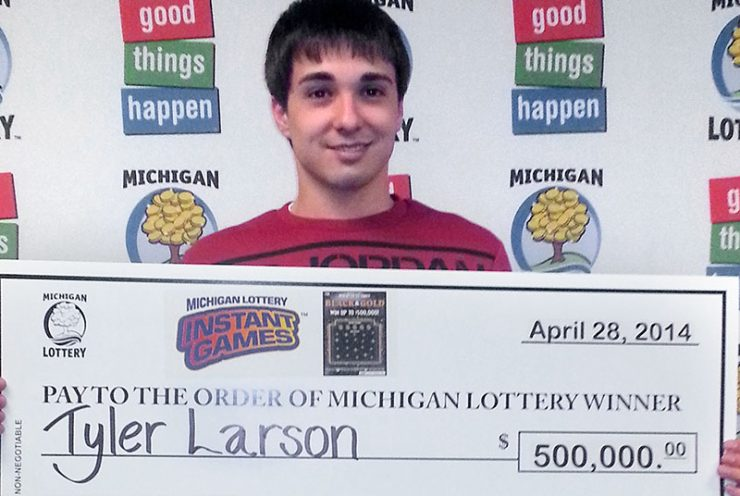 Escanaba man wins Lottery top prize