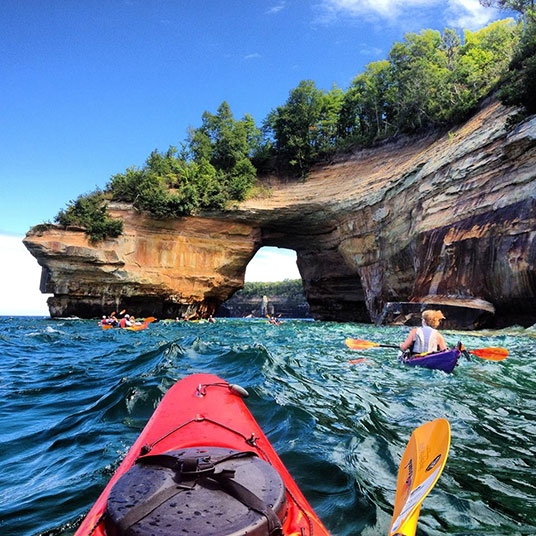 Pictured Rocks Photo Chosen For Federal Parks Passport