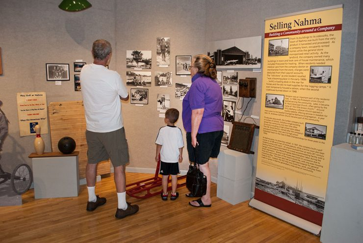 The exhibit 'Selling Nahma' opens at the Bonifas Fine Arts Center