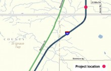 Portion of I-75 in Chippewa County closes three months for construction