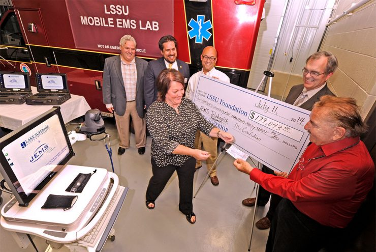 Gift purchases tele-health stations for LSSU