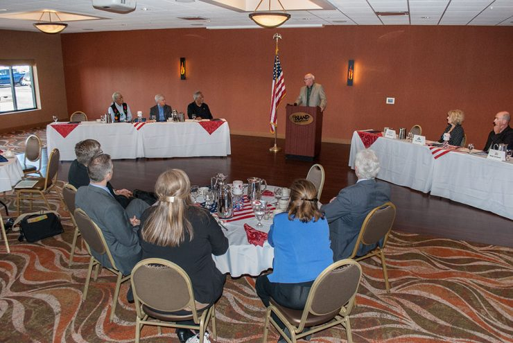 Hannahville Indian Community hosts Gov. Snyder in economic roundtable