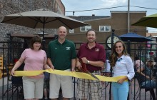 Congress Pizza celebrates new patio with ribbon cutting ceremony