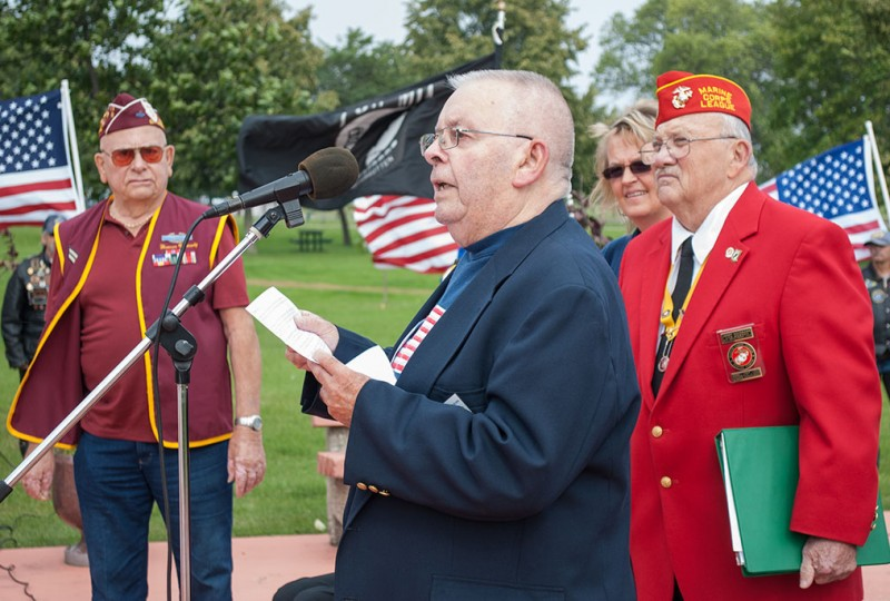 Son pays tribute to father on POW/MIA Recognition Day