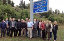 Michigamme roadside park honors former MDOT employee