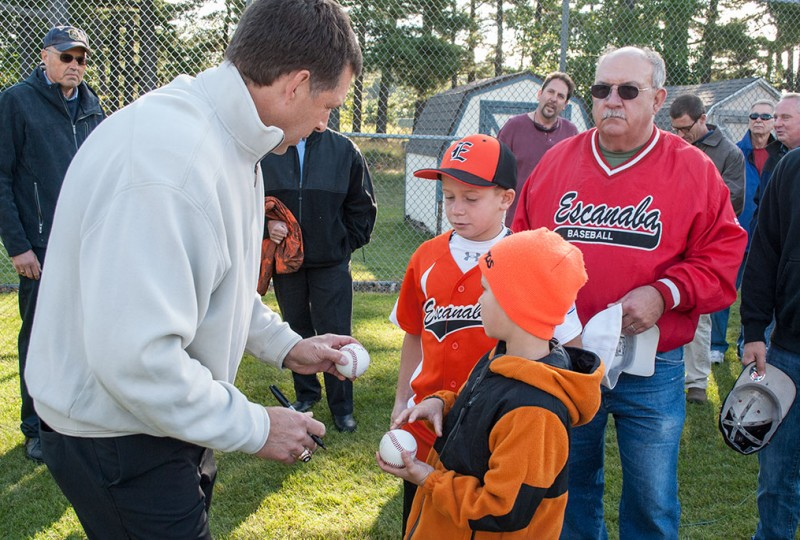 Escanaba ball field named for Tapani