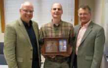 Bevins receives top MDOT employee award