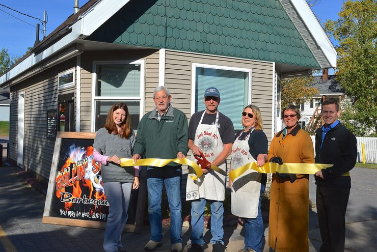 Rollin' Smoke Barbeque in Marquette celebrates grand opening