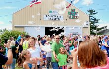 Dove release delights visitors at U.P. State Fair