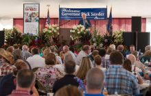 Progress being made, Snyder tells luncheon at U.P. State Fair