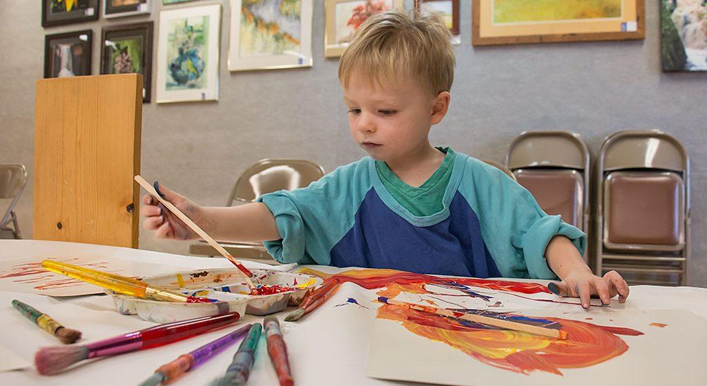 Toddler Art program at Bonifas uses art, music to educate