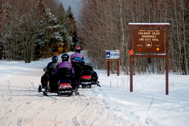 Upper Peninsula considered top snowmobiling destination