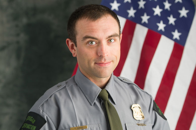 DNR officer rescues runaway boy from ice on Little Bay de Noc