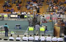Students tackle fuel, gears and airships in FIRST Robotics competition