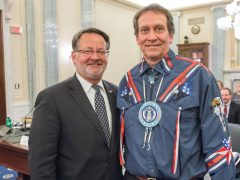Peters hosts Keweenaw Bay Indian Community President at U.S. Senate hearing