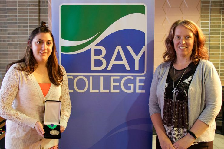 Hewitt named outstanding Bay College graduate for technology division