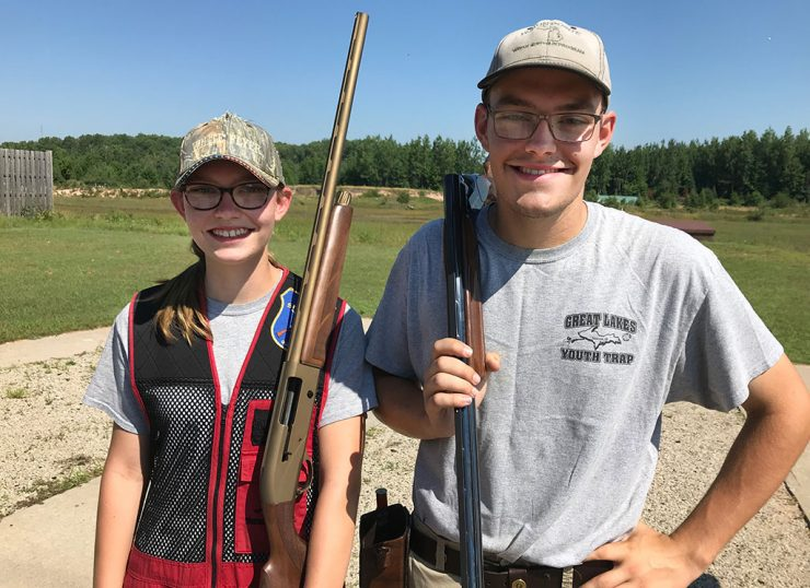 Brother, sister take aim at national youth skeet competition