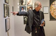 Sjoquist takes a walk through the Golden Age of Album Covers exhibit
