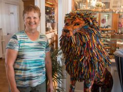 Escanaba artist is excited about her creation heading to ArtPrize