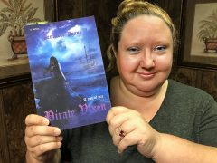 Escanaba author Jen Pease works on Pirate Vixen trilogy
