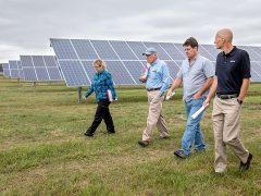 Solar garden generates new direction for Escanaba