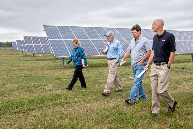 Solar garden generates new direction for Escanaba