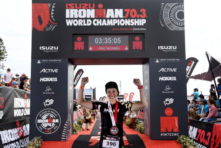 U.P. competitor completes goal of World Half Ironman Championship