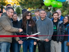Ribbon cutting ceremony held for Gladstone's Little Bay de Noc Trail