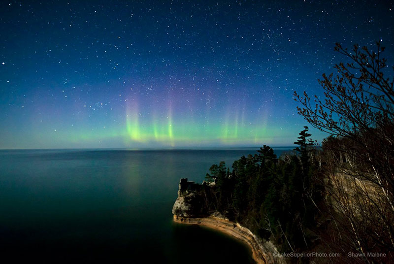 "Photographer Shawn Malone displays vivid celestial photos of the Upper Peninsula in her exhibit ""North County Dreamland"" at the Bonifas Fine Arts Center in Escanaba Sept. 26 - Oct. 30. Photo courtesy of Shawn Malone."