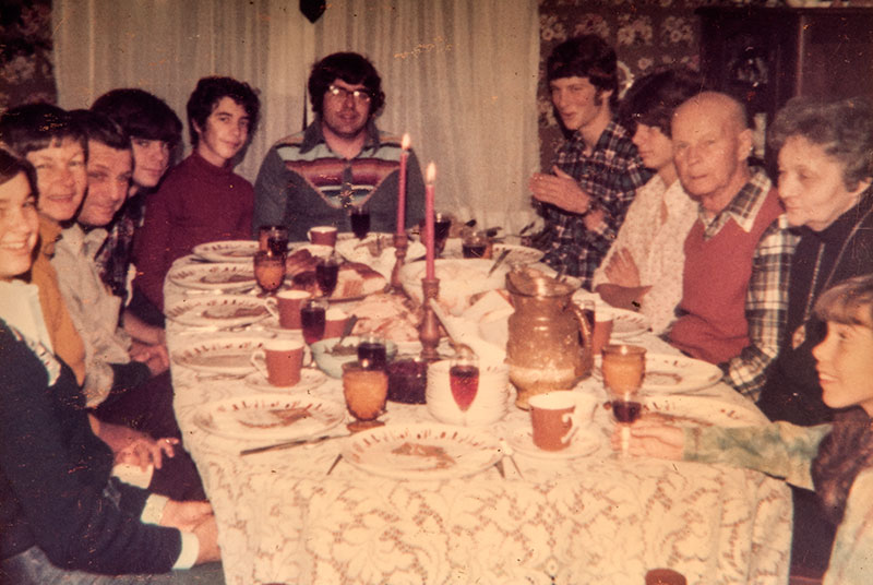 Craig Woerpel talks with his mother about the traditions of their family over many Thanksgivings in the Upper Peninsula.