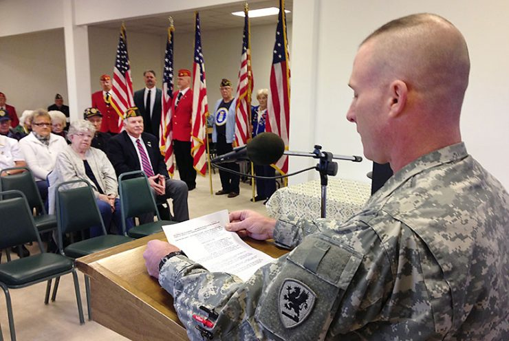 Delta County Veterans Council honors vets on Veterans Day