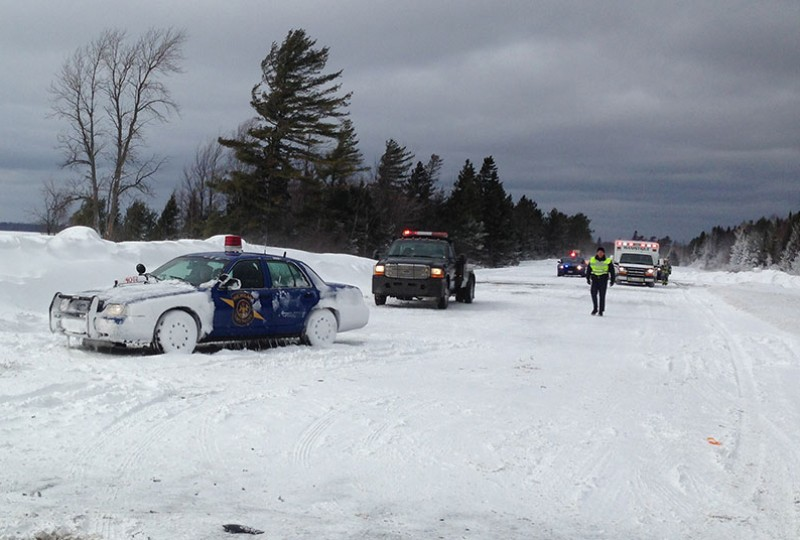 Whiteout conditions made response efforts difficult