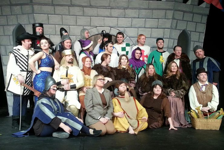 Players de Noc production of Monty Python's Spamalot opens Feb. 28
