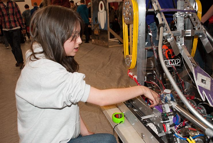 Upper Peninsula students get ready for NEXT Robotic District Competition