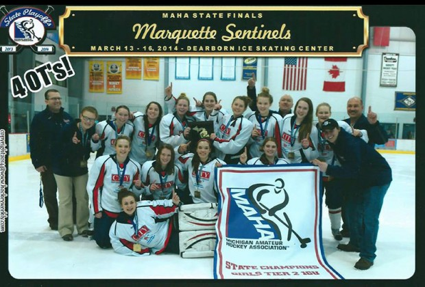 Marquette Sentinels Girls Hockey Team heads to national competiton