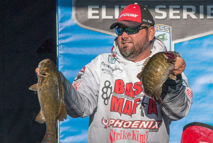 Winds a factor in Bassmaster Angler of the Year Championship on Bays de Noc