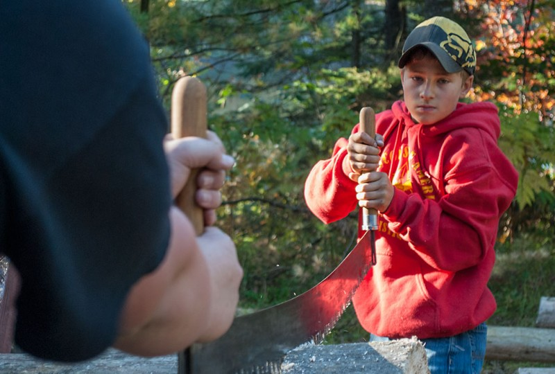 U.P. Scouts meet challenges in Camporee competition