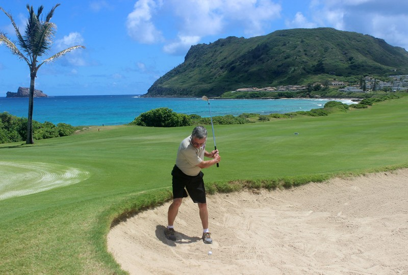 Former sports writer reaches goal of playing golf in all 50 states