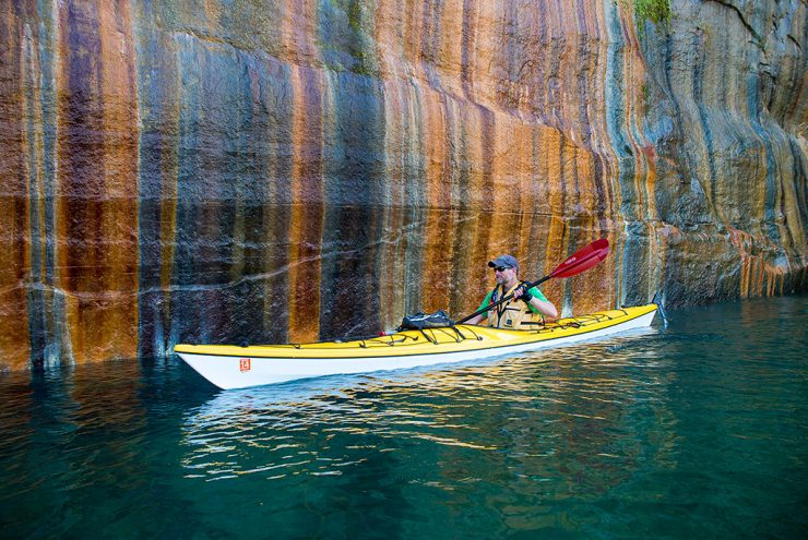 Kayaker says Fall is a great time to explore the Great Lakes