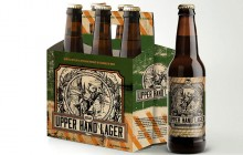 Upper Hand Brewery unveils designs for craft beer labels, packaging