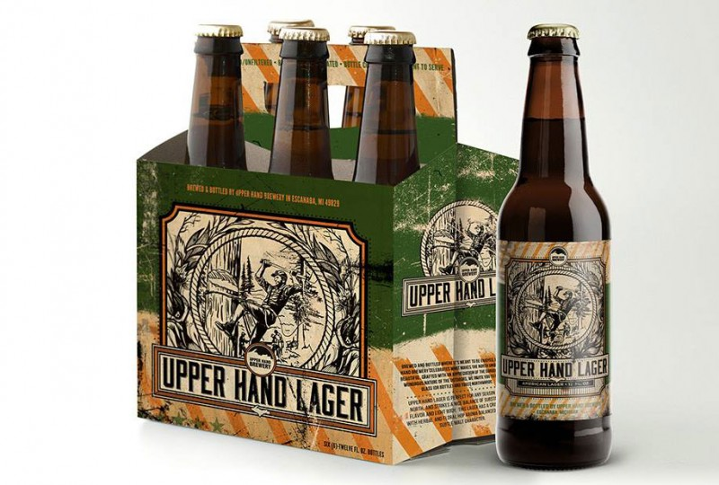 Upper Hand Brewery unveils craft beer labels