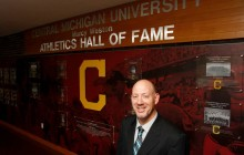 Cashen inducted into CMU's sports hall of fame for his collegiate wrestling career