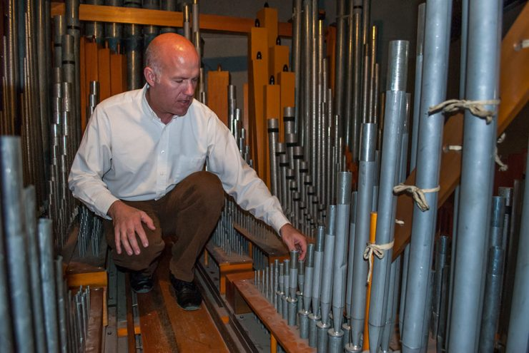 Pipe organ project enters Phase 2 at Escanaba Catholic church