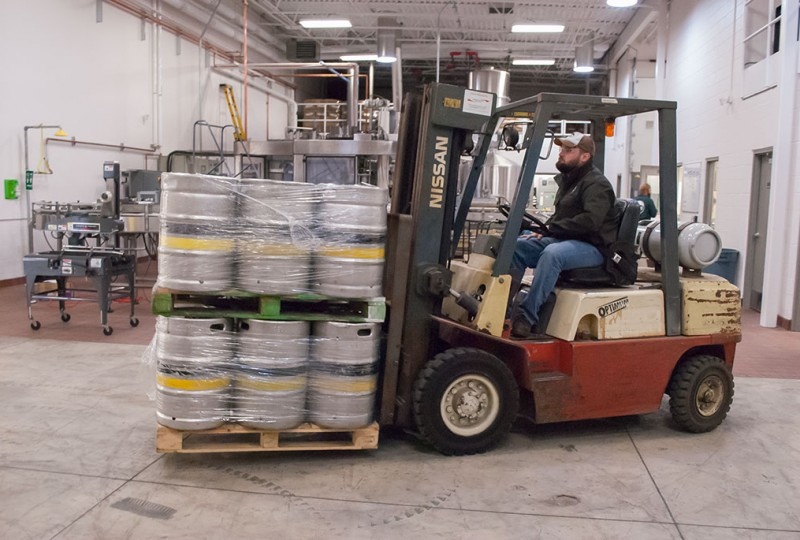 Upper Hand Brewery releases its first beer, Escanaba celebrates
