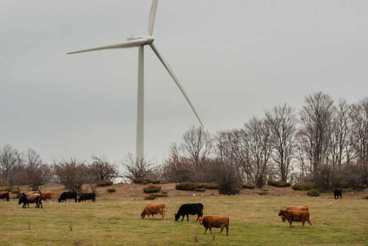 Delta County does not impose a moratorium on wind turbines